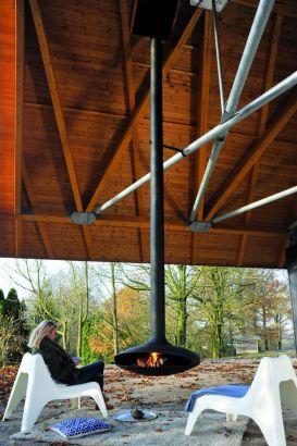 cheminée design pour l'extérieur, Gyrofocus outdoor